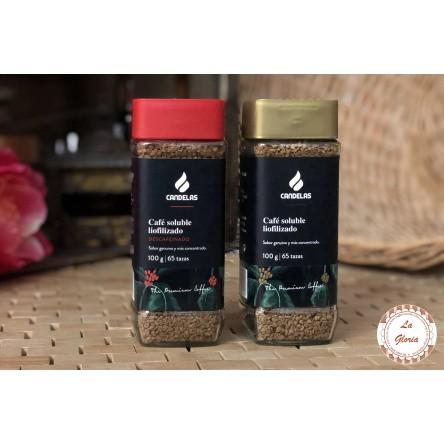 CAFÉ SOLUBLE LIOFILIZADO 100 gr